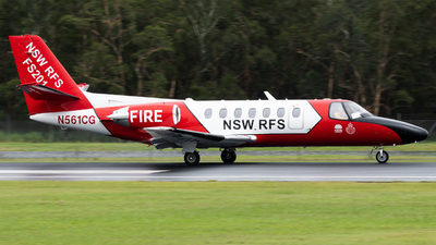 N561CG - Cessna 560 Citation Encore - NSW Rural Fire Service