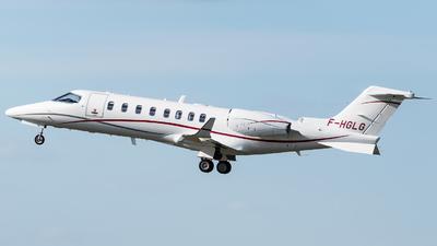 F-HGLG - Bombardier Learjet 75 - Private
