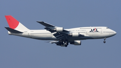 JA8905 - Boeing 747-446D - Japan Airlines (JAL)