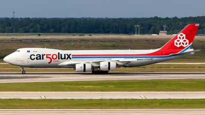 A picture of LXVCC - Boeing 7478R7(F) - Cargolux - © SierraKiloZulu