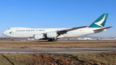A picture of BLJA - Boeing 747867(F) - Cathay Pacific - © Justin Stöckel