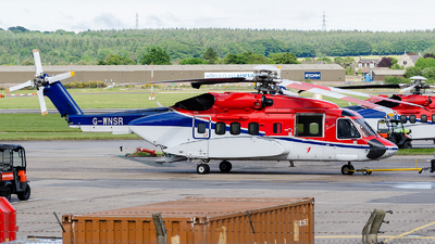 A picture of GWNSR - Sikorsky S92A - CHC Helikopter Service - © Aron