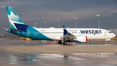 C-FHCM - Boeing 737-8 MAX - WestJet Airlines