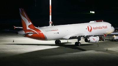 VH-ULD - Airbus A321-231P2F - Qantas Freight (Express Freighters Australia)