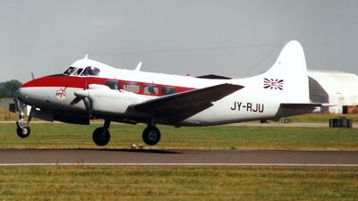 JY-RJU - De Havilland DH-104 Dove - Jordan - Air Force