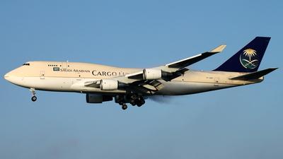 TF-AMP - Boeing 747-481(BCF) - Saudi Arabian Airlines Cargo (Air Atlanta Icelandic)