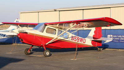 A picture of N59WD - American Champion 7GCBC - [14232007] - © Jeroen Stroes