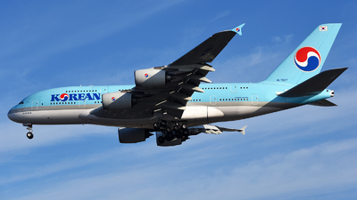 A picture of HL7627 - Airbus A380861 - Korean Air - © Rocky Wang