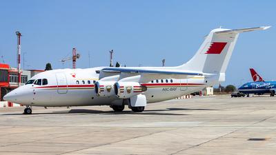 A9C-BRF - British Aerospace Avro RJ70 - Bahrain - Royal Flight