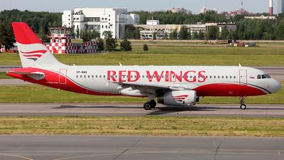 VP-BWX - Airbus A320-232 - Red Wings