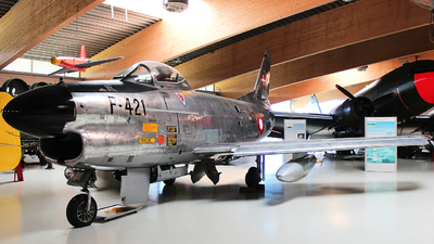 F-421 - North American F-86D Sabre - Denmark - Air Force