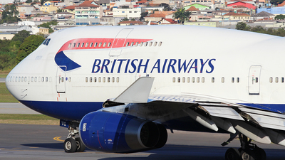 G-CIVG - Boeing 747-436 - British Airways