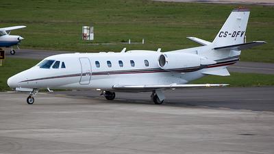 A picture of CSDFV - Cessna 560XL Citation Excel - [5605543] - © John Burton