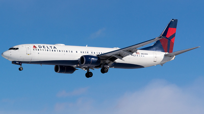 A picture of N833DN - Boeing 737932(ER) - Delta Air Lines - © John Newsome