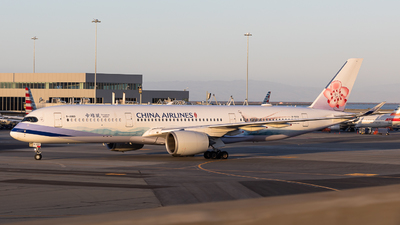 A picture of B18901 - Airbus A350941 - China Airlines - © jonthespotter
