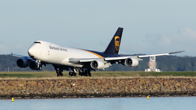 A picture of N617UP - Boeing 7478F - UPS Airlines - © Morris Biondi