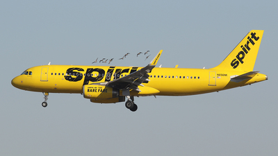 A picture of N656NK - Airbus A320232 - Spirit Airlines - © BizavMen