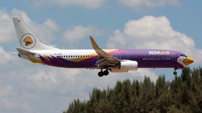A picture of HSDBB - Boeing 7378AS - Nok Air - © Fabrizio Gandolfo