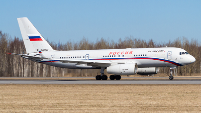 A picture of RA64057 - Tupolev Tu204300 - Rossiya  Special Flight Squadron - © Andrei Kurach
