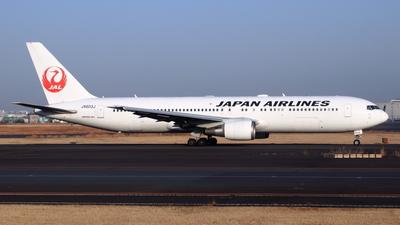 A picture of JA603J - Boeing 767346(ER) - Japan Airlines - © NRT Spotter