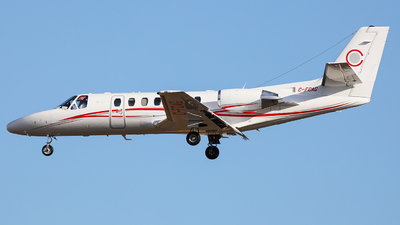 A picture of CFCAG - Cessna 560 Citation Ultra - Chartright Air - © CurtisShao233