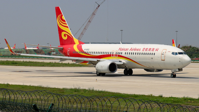 A picture of B6062 - Boeing 73784P - Hainan Airlines - © Captain Zhang