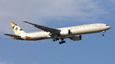 A picture of A6ETC - Boeing 7773FX(ER) - Etihad Airways - © Memory of the Winter