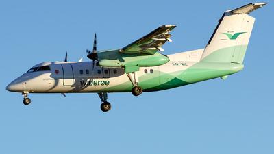 A picture of LNWIL - De Havilland Canada Dash 8100 - Wideroe - © Laszlo Fekete