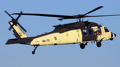 NA-711 - Sikorsky UH-60M Blackhawk - Taiwan - National Airborne Service Corps (NASC)