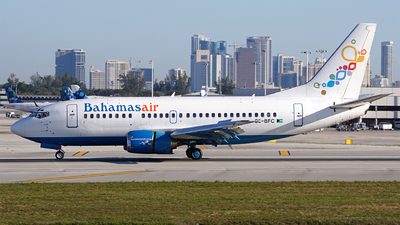 A picture of C6BFC - Boeing 737505 - Bahamasair - © Filipe Couceiro