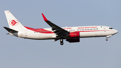 A picture of 7TVKC - Boeing 7378D6 - Air Algerie - © Arne P.