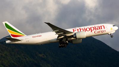 A picture of ETAVN - Boeing 777F60 - Ethiopian Airlines - © Alvin.L