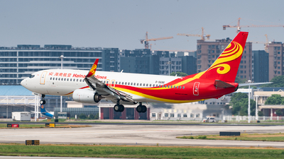 A picture of B5686 - Boeing 73784P - Hainan Airlines - © FJL767400