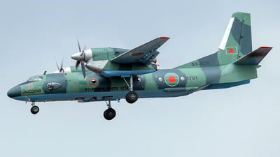 1701 - Antonov An-32 - Bangladesh - Air Force