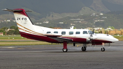 ZK-FIS - Piper PA-42-1000 Cheyenne 400LS - New Zealand Airways