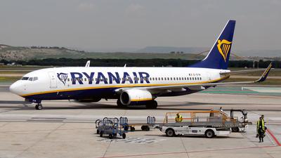 EI-DYW - Boeing 737-8AS - Ryanair