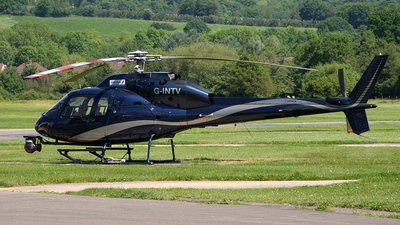 G-INTV - Aérospatiale AS 355F2 Ecureuil 2 - Arena Aviation