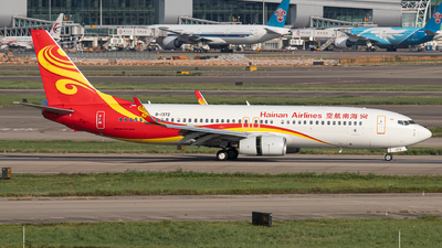 B-1372 - Boeing 737-84P - Hainan Airlines