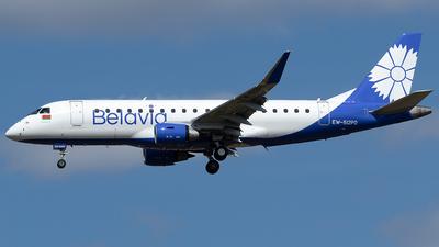 A picture of EW512PO - Embraer E175LR - Belavia - © Maximilian Haertl