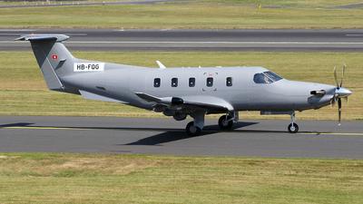 A picture of HBFQG - Pilatus PC12/47E - Pilatus Flugzeugwerke - © Ian Howat