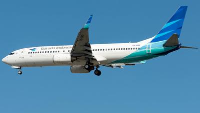 PK-GMC - Boeing 737-8U3 - Garuda Indonesia