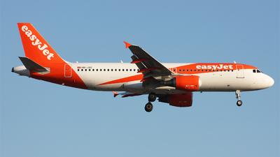 HB-JXC - Airbus A320-214 - easyJet Switzerland