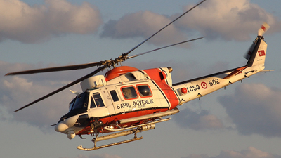 TCSG-502 - Agusta-Bell AB-412EP - Turkey - Coast Guard