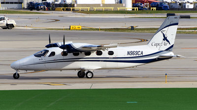 N969CA - Tecnam P2012 Traveller - Cape Air