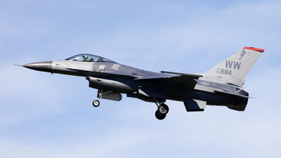 92-3884 - Lockheed Martin F-16CJ Fighting Falcon - United States - US Air Force (USAF)