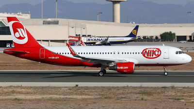 OE-LEY - Airbus A320-214 - Niki