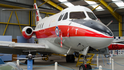 XS726 - Hawker Siddeley Dominie T.1 - United Kingdom - Royal Air Force (RAF)