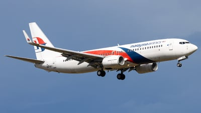 9M-MLV - Boeing 737-8H6 - Malaysia Airlines