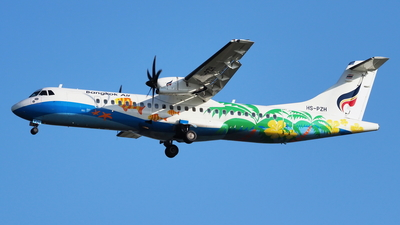HS-PZH - ATR 72-212A(600) - Bangkok Airways