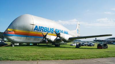 F-BTGV - Aero-Spacelines 377SGT Super Guppy - Airbus Industrie